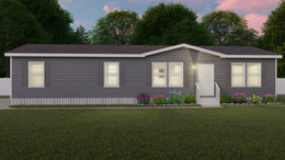 The CLASSIC 56D Exterior. This Manufactured Mobile Home features 3 bedrooms and 2 baths.