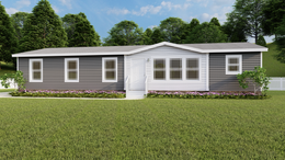 The THE BREEZE Exterior. This Manufactured Mobile Home features 3 bedrooms and 2 baths.