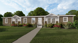 The BREEZE FARMHOUSE 72 Exterior. This Manufactured Mobile Home features 4 bedrooms and 2 baths.
