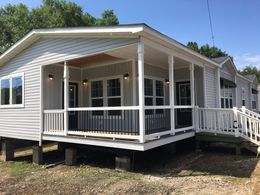 "The 1434 CAROLINA ""SOUTHERN BELLE"" Exterior. This Manufactured Mobile Home features 3 bedrooms and 2 baths."