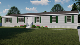 The ELITE ZEUS 28X68 Exterior. This Manufactured Mobile Home features 4 bedrooms and 2 baths.