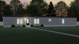 The THE BOBBY JO Exterior. This Manufactured Mobile Home features 3 bedrooms and 2 baths.