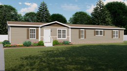 The CHAMBORD Exterior. This Manufactured Mobile Home features 4 bedrooms and 2 baths.
