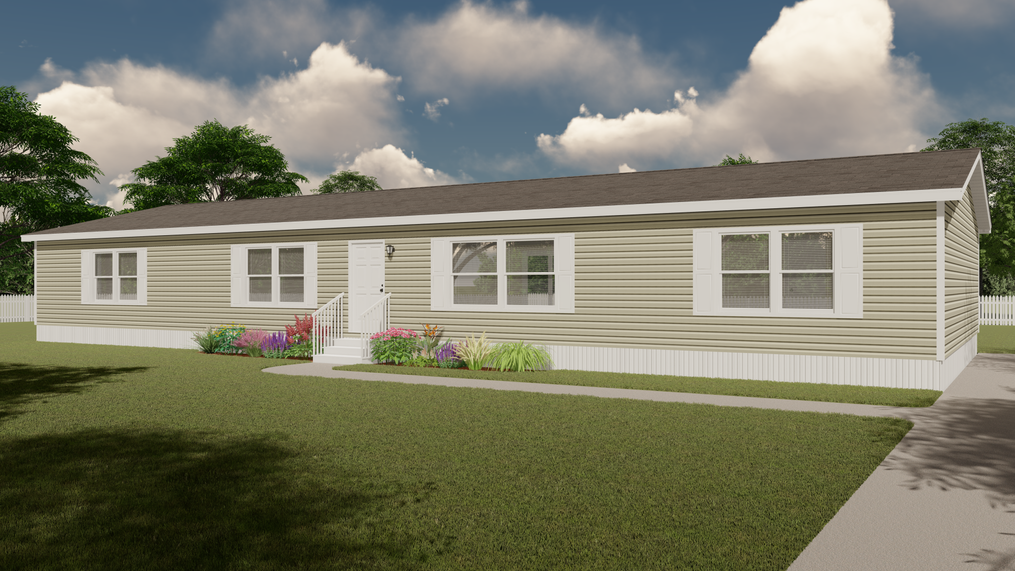 The ULTRA PRO BIG BOY Exterior. This Manufactured Mobile Home features 4 bedrooms and 2 baths.