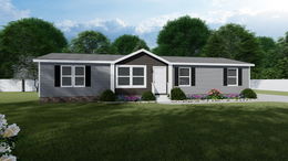 The THE ANNIVERSARY 2.0 Exterior. This Manufactured Mobile Home features 3 bedrooms and 2 baths.