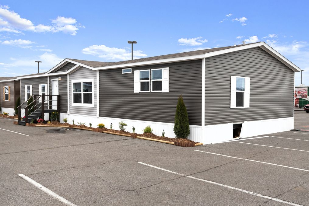 The SIG28663A Exterior. This Manufactured Mobile Home features 3 bedrooms and 2 baths.