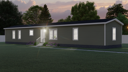 The 101  ADVANTAGE PLUS 7616 Exterior. This Manufactured Mobile Home features 3 bedrooms and 2 baths.