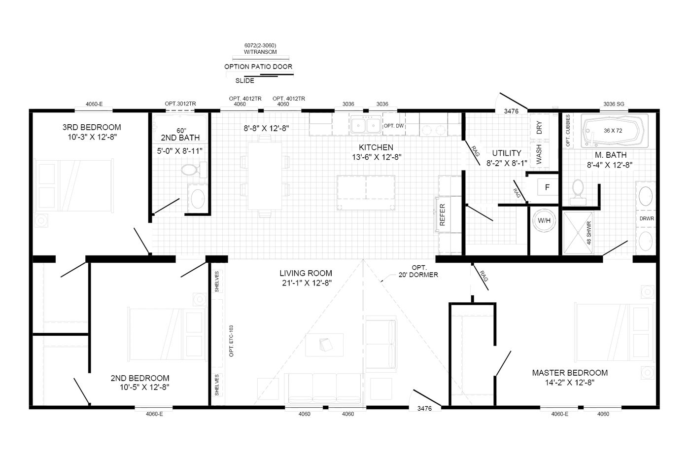 The Hanson  Floorplan