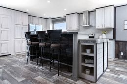 The SIG28663A Kitchen. This Manufactured Mobile Home features 3 bedrooms and 2 baths.