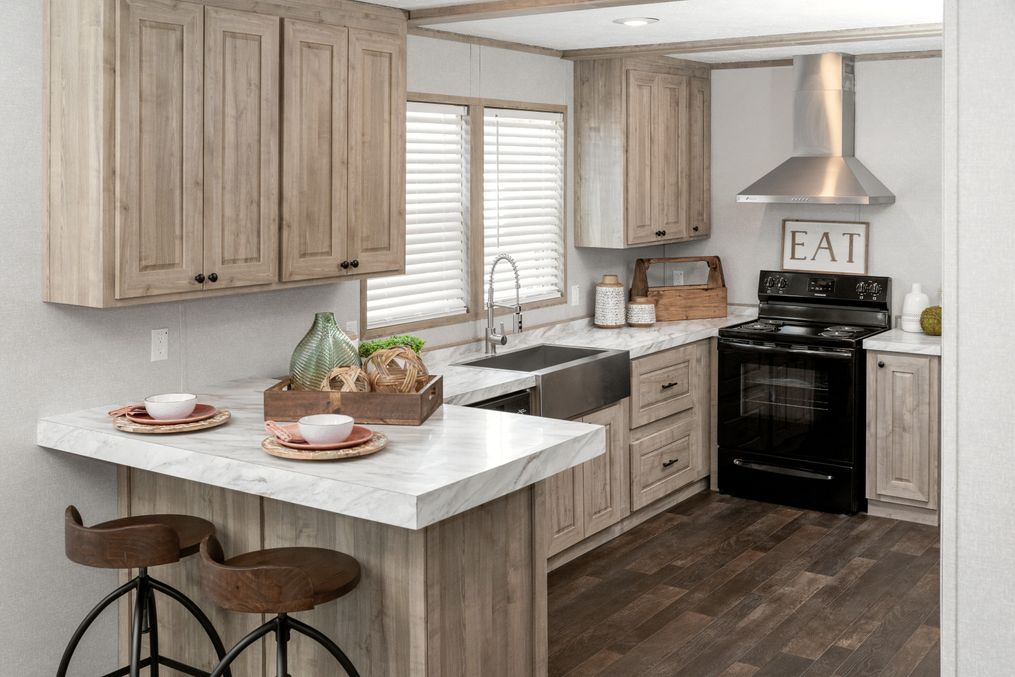 The THE 1959 Kitchen. This Manufactured Mobile Home features 3 bedrooms and 2 baths.