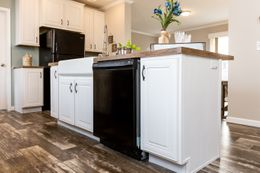 The CLASSIC 56D Kitchen. This Manufactured Mobile Home features 3 bedrooms and 2 baths.