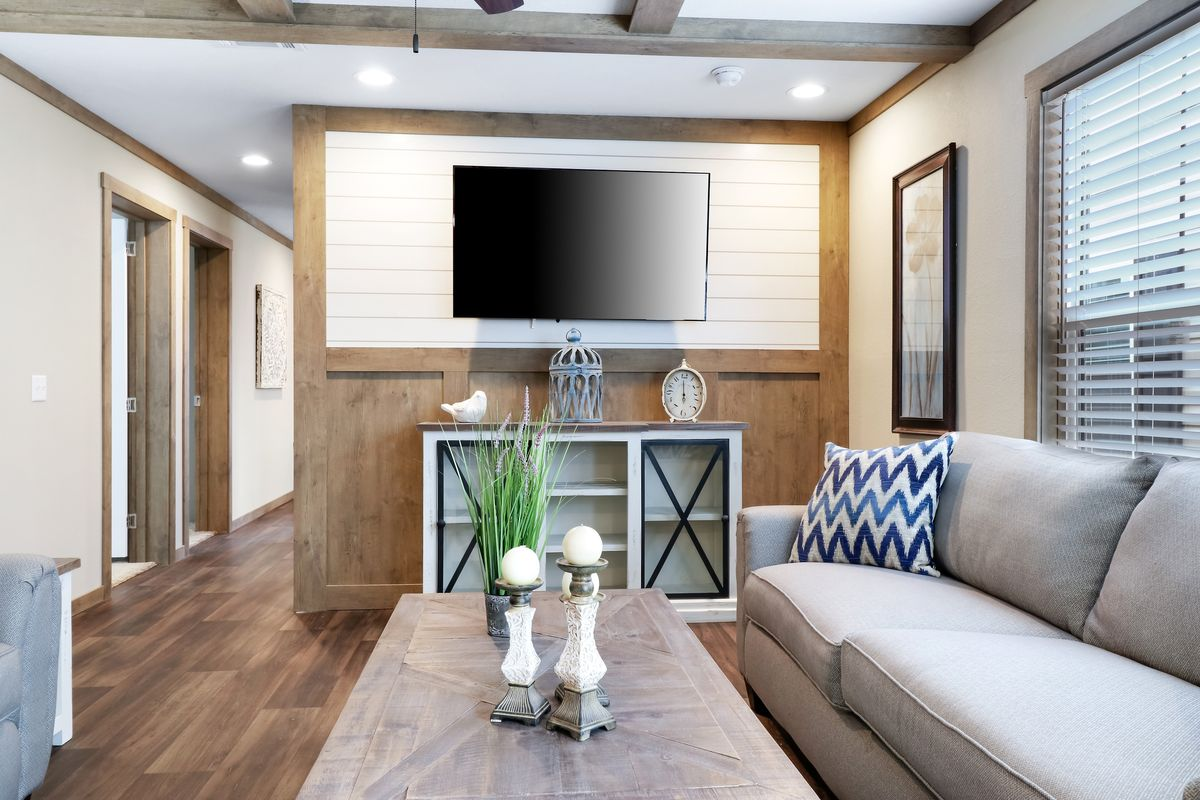 The AMELIA Den. This Manufactured Mobile Home features 4 bedrooms and 2 baths.