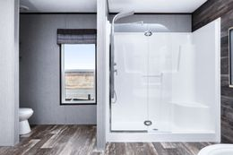 The SIG28663A Guest Bathroom. This Manufactured Mobile Home features 3 bedrooms and 2 baths.
