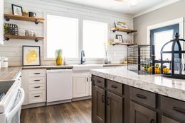 "The 1434 CAROLINA ""SOUTHERN BELLE"" Kitchen. This Manufactured Mobile Home features 3 bedrooms and 2 baths."