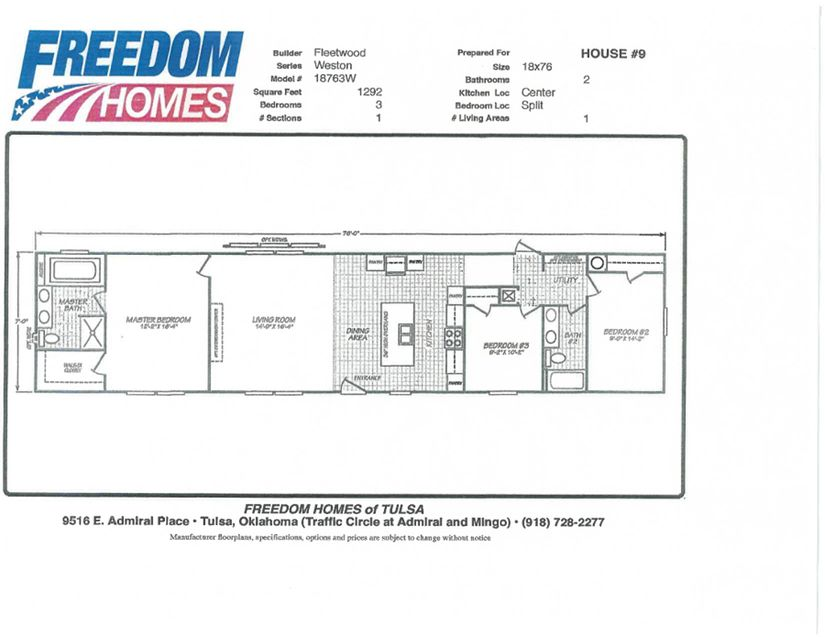 Home Details | Freedom Homes of Tulsa