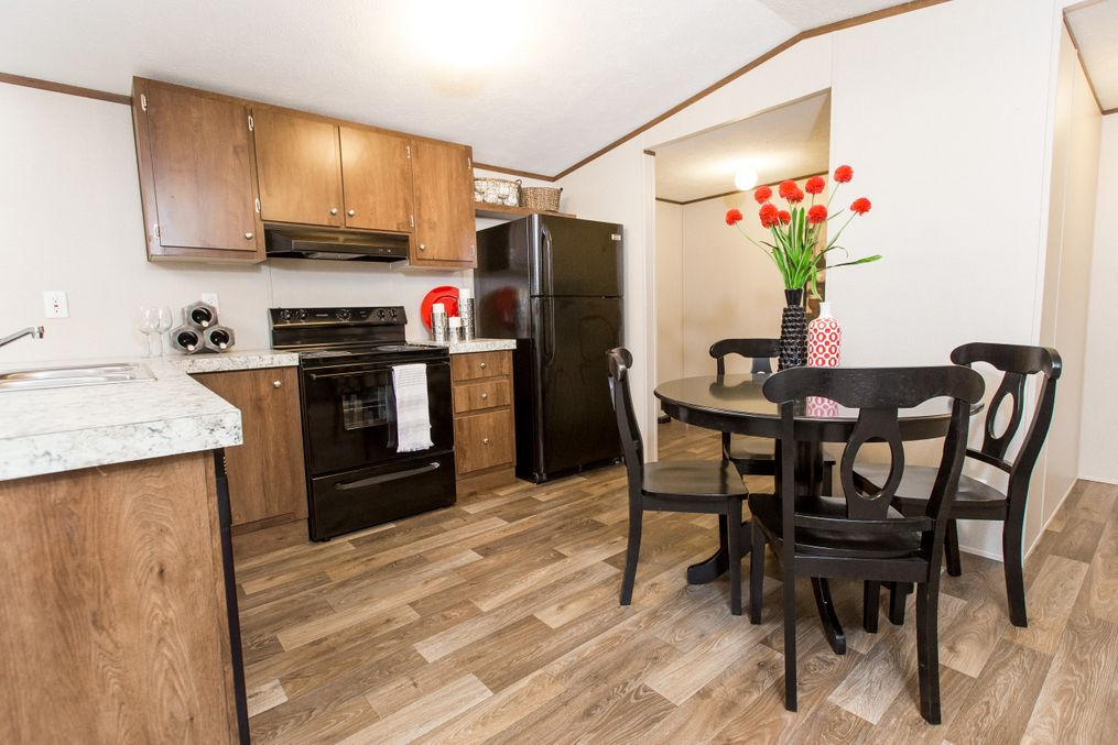 The ELATION Kitchen. This Manufactured Mobile Home features 3 bedrooms and 2 baths.