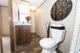 The ELATION Master Bathroom. This Manufactured Mobile Home features 3 bedrooms and 2 baths.