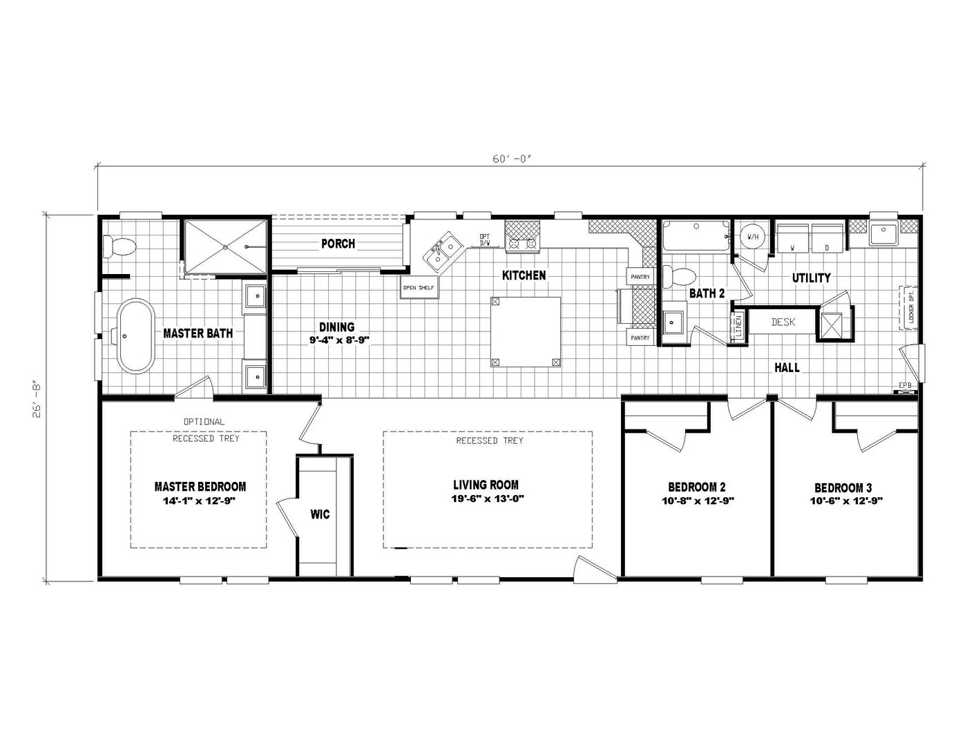 3558 JAMESTOWN Floorplan
